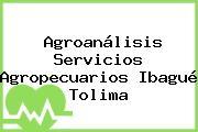 Agroanálisis Servicios Agropecuarios Ibagué Tolima