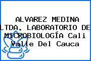 ALVAREZ MEDINA LTDA. LABORATORIO DE MICROBIOLOGÍA Cali Valle Del Cauca