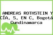 ANDREAS ROTHSTEIN Y CÍA. S. EN C. Bogotá Cundinamarca