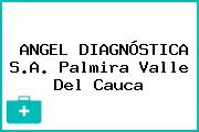 ANGEL DIAGNÓSTICA S.A. Palmira Valle Del Cauca