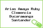 Arias Amaya Ruby Clemencia Bucaramanga Santander