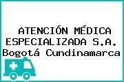 ATENCIÓN MÉDICA ESPECIALIZADA S.A. Bogotá Cundinamarca