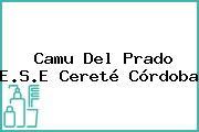 Camu Del Prado E.S.E Cereté Córdoba