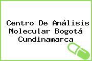 Centro De Análisis Molecular Bogotá Cundinamarca