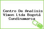 Centro De Analisis Vimon Ltda Bogotá Cundinamarca