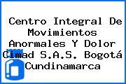 Centro Integral De Movimientos Anormales Y Dolor Cimad S.A.S. Bogotá Cundinamarca