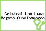 Critical Lab Ltda Bogotá Cundinamarca
