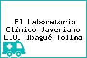 El Laboratorio Clínico Javeriano E.U. Ibagué Tolima