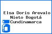 Elsa Doris Arevalo Nieto Bogotá Cundinamarca