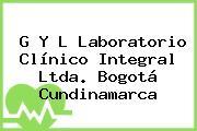 G Y L Laboratorio Clínico Integral Ltda. Bogotá Cundinamarca