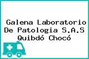Galena Laboratorio De Patologia S.A.S Quibdó Chocó
