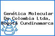 Genética Molecular De Colombia Ltda. Bogotá Cundinamarca