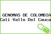 GENOMAS DE COLOMBIA Cali Valle Del Cauca