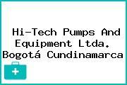 Hi-Tech Pumps And Equipment Ltda. Bogotá Cundinamarca