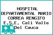 HOSPITAL DEPARTAMENTAL MARIO CORREA RENGIFO E.S.E. Cali Valle Del Cauca