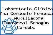 Laboratorio Clínico Ana Consuelo Fonseca - Auxiliadora Carrascal Sahagún Córdoba