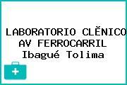 LABORATORIO CLÌNICO AV FERROCARRIL Ibagué Tolima