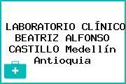 LABORATORIO CLÍNICO BEATRIZ ALFONSO CASTILLO Medellín Antioquia