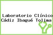 Laboratorio Clínico Cádiz Ibagué Tolima