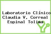 Laboratorio Clínico Claudia V. Correal Espinal Tolima