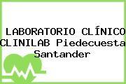 LABORATORIO CLÍNICO CLINILAB Piedecuesta Santander