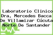 Laboratorio Clinico Dra. Mercedes Bacca De Villamizar Cúcuta Norte De Santander