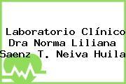 Laboratorio Clínico Dra Norma Liliana Saenz T. Neiva Huila