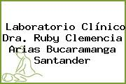 Laboratorio Clínico Dra. Ruby Clemencia Arias Bucaramanga Santander