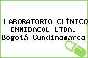 LABORATORIO CLÍNICO ENMIBACOL LTDA. Bogotá Cundinamarca