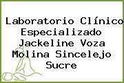 Laboratorio Clínico Especializado Jackeline Voza Molina Sincelejo Sucre