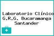 Laboratorio Clínico G.R.G. Bucaramanga Santander