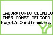 Laboratorio Clínico Inés Gómez Delgado Bogotá Cundinamarca