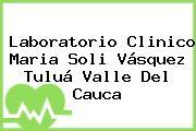 Laboratorio Clinico Maria Soli Vásquez Tuluá Valle Del Cauca