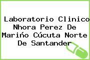 Laboratorio Clinico Nhora Perez De Mariño Cúcuta Norte De Santander