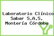 Laboratorio Clínico Sabar S.A.S. Montería Córdoba