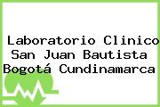 Laboratorio Clinico San Juan Bautista Bogotá Cundinamarca