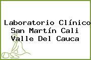 Laboratorio Clínico San Martín Cali Valle Del Cauca