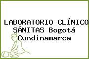 LABORATORIO CLÍNICO SÁNITAS Bogotá Cundinamarca