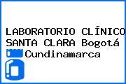 LABORATORIO CLÍNICO SANTA CLARA Bogotá Cundinamarca