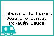 Laboratorio Lorena Vejarano S.A.S. Popayán Cauca