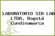 LABORATORIO SIB LAB LTDA. Bogotá Cundinamarca