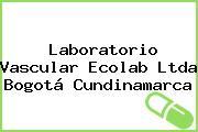 Laboratorio Vascular Ecolab Ltda Bogotá Cundinamarca