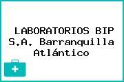 LABORATORIOS BIP S.A. Barranquilla Atlántico
