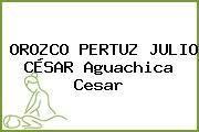 OROZCO PERTUZ JULIO CÉSAR Aguachica Cesar