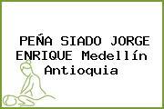 PEÑA SIADO JORGE ENRIQUE Medellín Antioquia