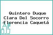 Quintero Duque Clara Del Socorro Florencia Caquetá