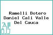 Ramelli Botero Daniel Cali Valle Del Cauca