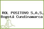 ROL POSITOVO S.A.S. Bogotá Cundinamarca