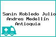 Sanin Robledo Julio Andres Medellín Antioquia