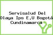 Servisalud Del Olaya Ips E.U Bogotá Cundinamarca